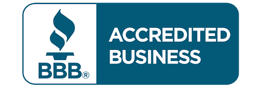 We're accredited by the Better Business Bureau.